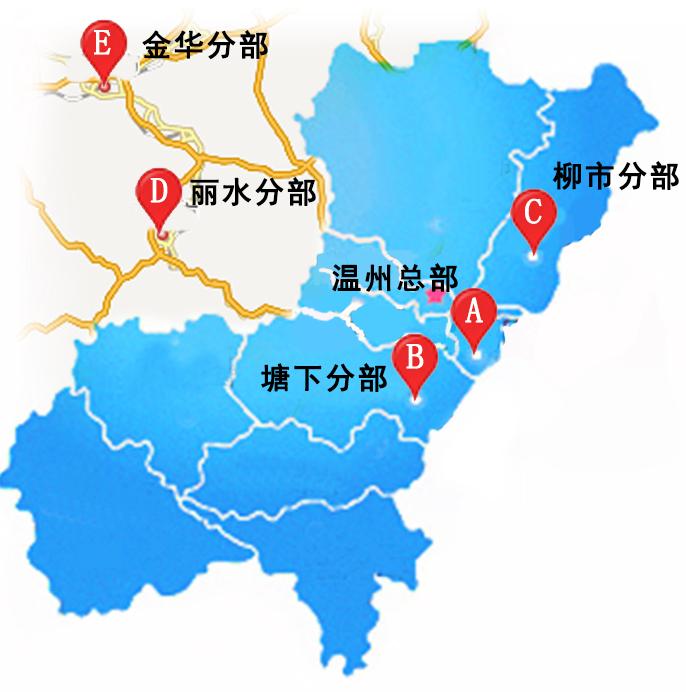 苍南风景分布图